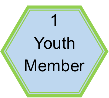 One youth member