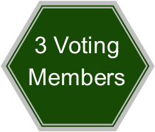 Three voting members