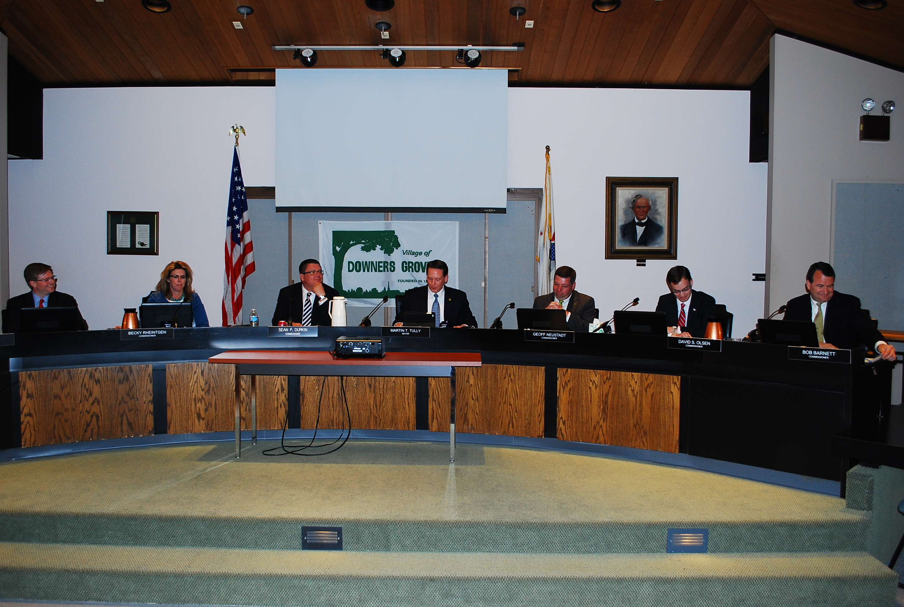 Village Council Commissioners