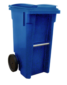 Sample type of 35-gallon recycling cart